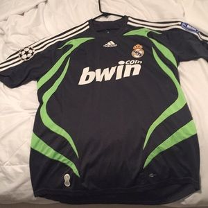 Real Madrid Retro Champions League Jersey